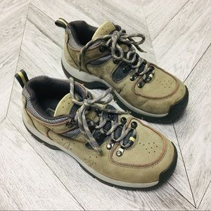 Skechers | Grey Leather Hiking / Work Boots 7.5